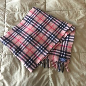 Burberry's Cashmere Scarf